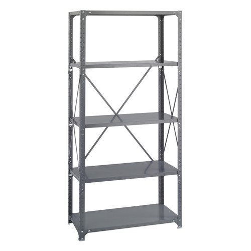 36 x 18 Commercial 5 Shelf Kit