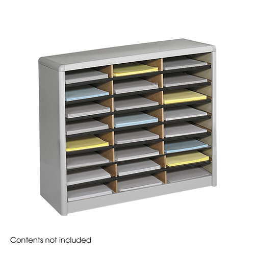 Value Sorter Literature Organizer, 24 Compartment
