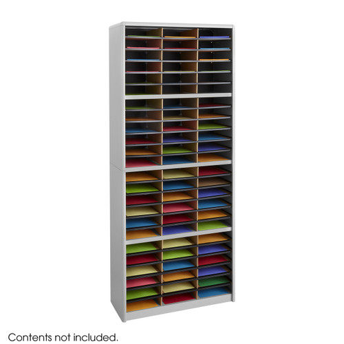 Value Sorter Literature Organizer, 72 Compartment