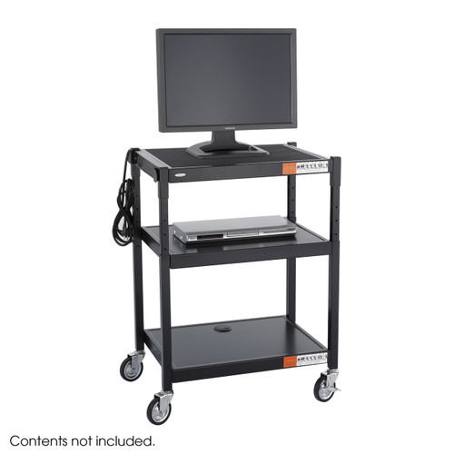 Steel Adjustable Height Cart