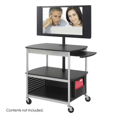 Scoot Open Flat Panel Multimedia Cart