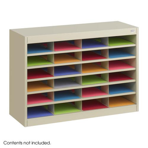 E-Z Stor? Literature Organizer, 24 Letter Size Compartments