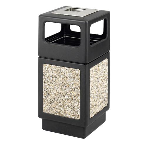 Canmeleon Aggregate Panel, Ash Urn/Side Open, 38 Gallon