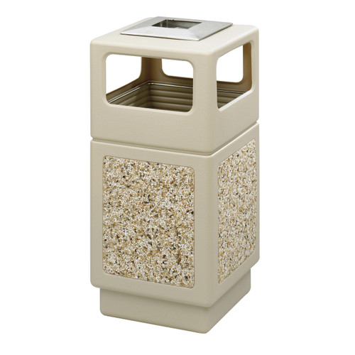 Canmeleon? Aggregate Panel, Ash Urn/Side Open, 38 Gallon