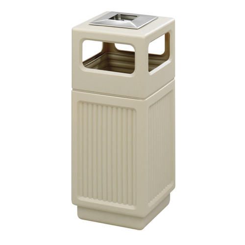 Canmeleon Recessed Panel, Ash Urn, Side Open, 15 Gallon