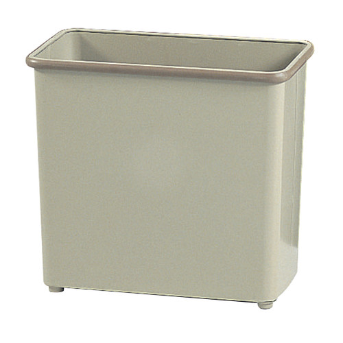 Rectangular Wastebasket, 27-1/2 Qt. (Qty. 3)