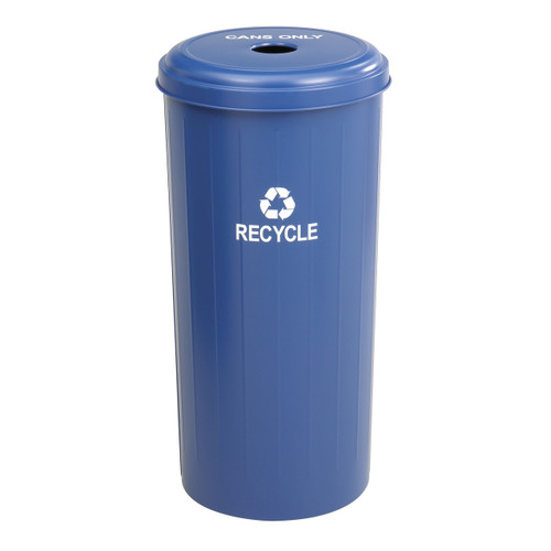 Tall Round Recycling Receptacle