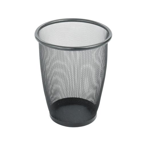 Onyx Mesh Round Wastebasket (Qty. 3)
