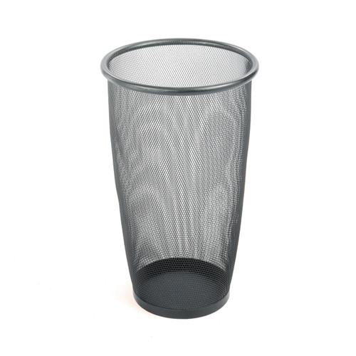Onyx Mesh Large Round Wastebasket (Qty. 3)