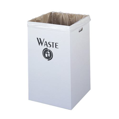 Corrugated Waste Receptacle (Qty. 12)