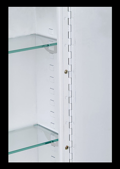 Ketcham single door medicine cabinets Round Corner Series