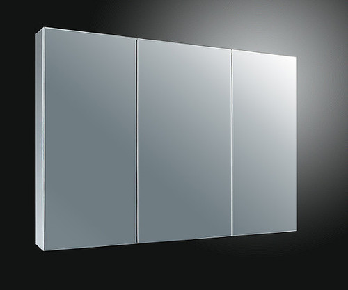 Ketcham single door medicine cabinets Stainless Steel Series -Tri-View