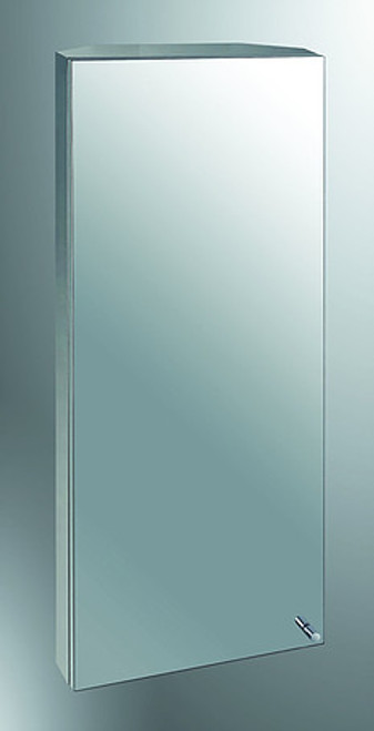 Ketcham Tri-View Medicine Cabinets Stainless Steel Series - Corner