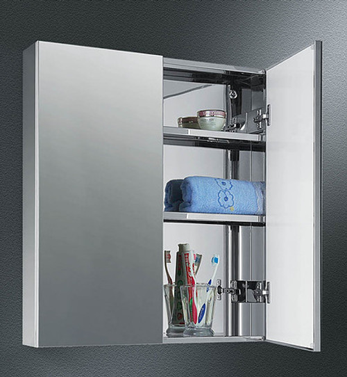 Ketcham Tri-View Medicine Cabinets Stainless Steel Series - Dual Door