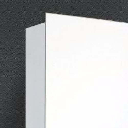 Ketcham Lighted Mirror Medicine Cabinets Stainless Steel Series - Single Door