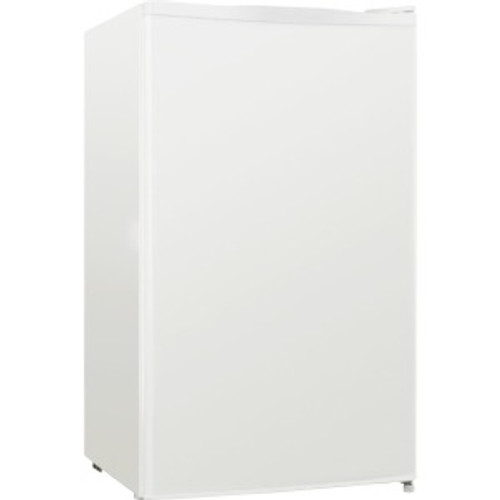 Lorell LLR72312 Compact Refrigerator, Can Dispenser, Dial Control, Manual Defrost, 3.3 cubic feet