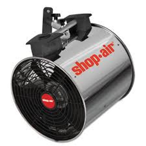 "Shop-Vac 1034200 Wall Mount Blower, 16"", Stainless Steel, 3-Speed, 1/2 HP Motor"