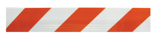POWER POST™ TYPE III BARRICADE KITS - 8' Boards with HIP Sheeting BOTH SIDES OF BOARDS