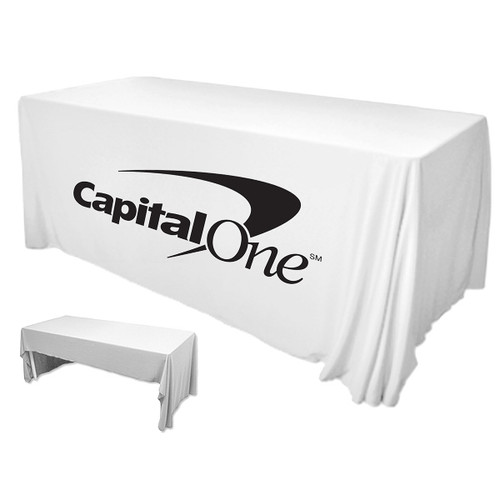 6 Feet Premium PolyKnit Table Cover