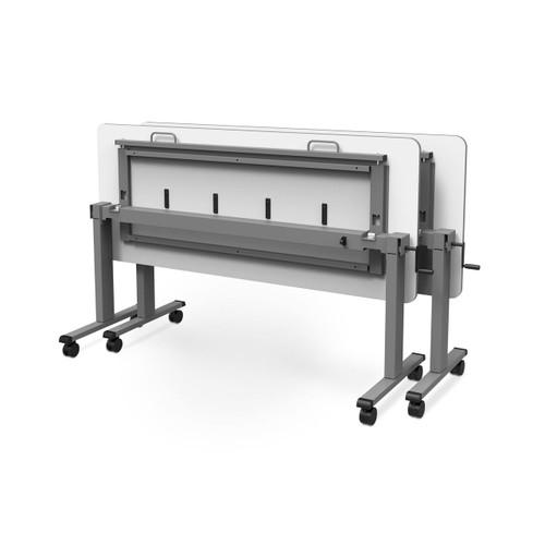 "72"" Adjustable Flip-Top Table, Crank Handle"