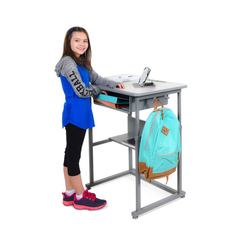 Student Desk - Manual Adjustable Desk