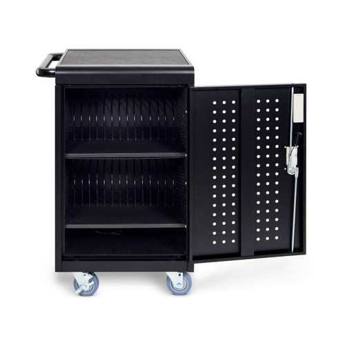 30-Tablet Charging Cart with Keypad Lock
