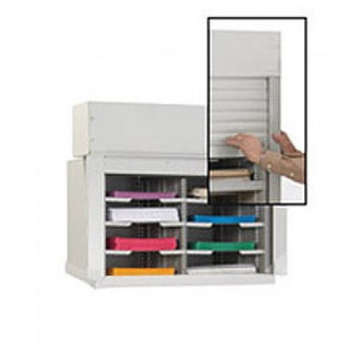 """Charnstrom 28""""W Security Mail Cabinet-8 Pockets- 15-3/4"""" Depths"""