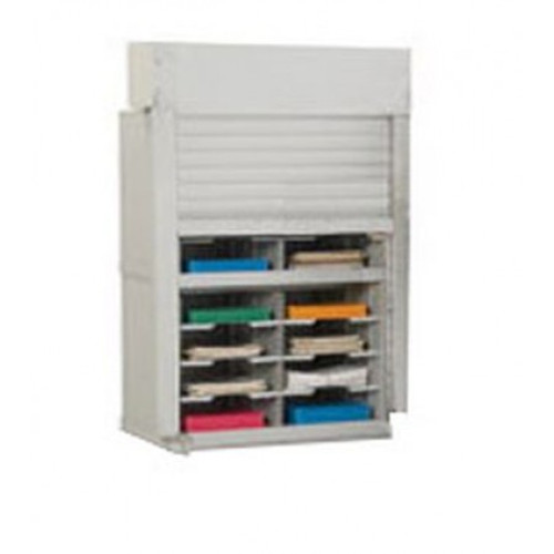 """Charnstrom 28""""W Security Mail Sorter -16 Pockets-15-3/4"""" Depths"""
