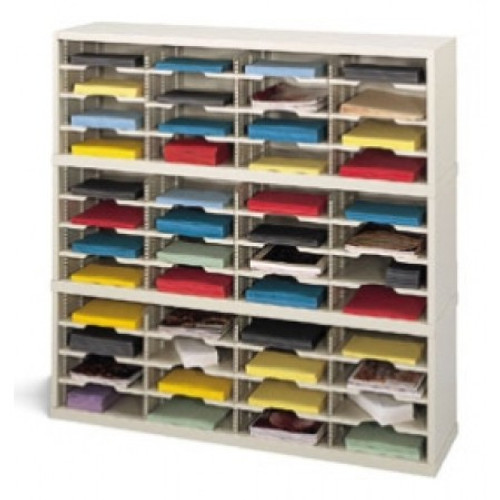 """Charnstrom 48"""" Wide Mail Sorter -  48 Pockets"""