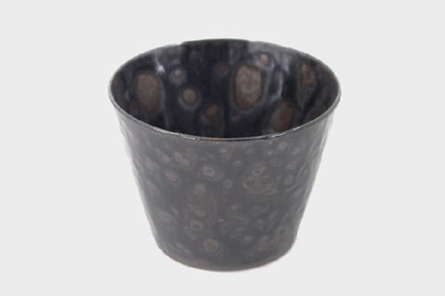 Black Marbled Sobachoco Cup