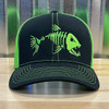Reel Monster© Angry Fish Black/Neon Green RMLG-13