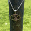 Creek Squad Stainless Steel Charm and Necklace