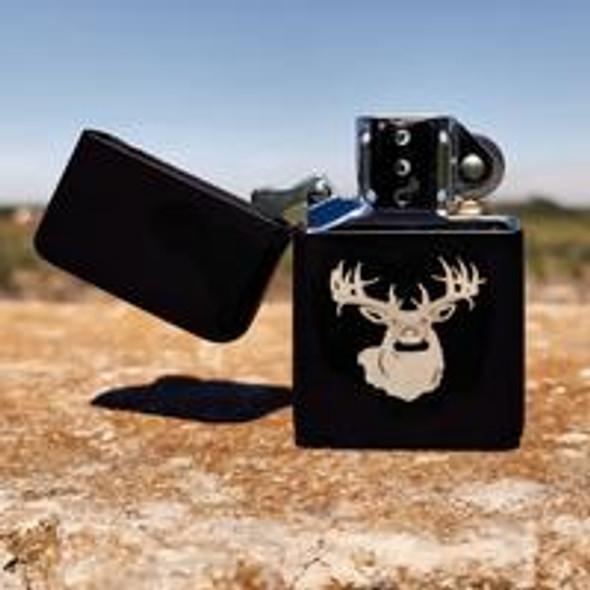 Big Buck Flip top Lighter Gift Set