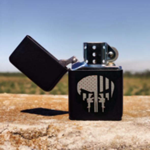 Punisher Guns Flip top Lighter Gift Set