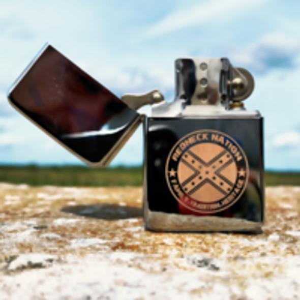 Redneck Nation Flip top Lighter Gift Set