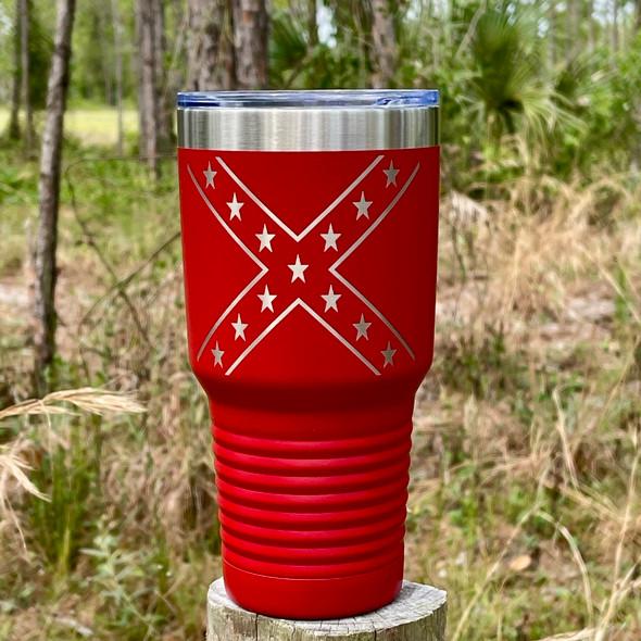 **NEW** Confederate Flag Tumbler MMT-46