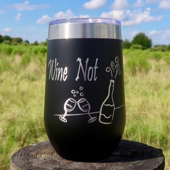 **NEW** Wine Not 16oz Wine Goblet MMWG-03