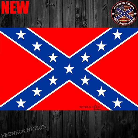 Confederate Flag Decal