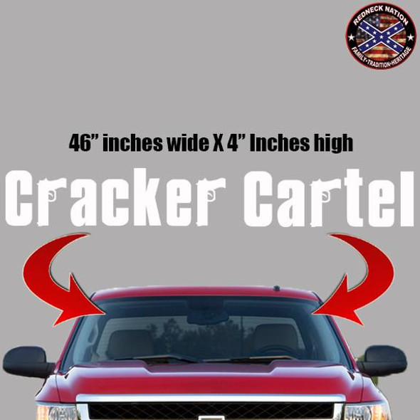 Cracker Cartel Windshield RNFW-11