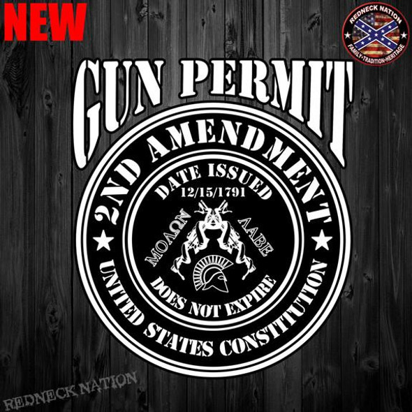Gun Permit 2ND Amendment