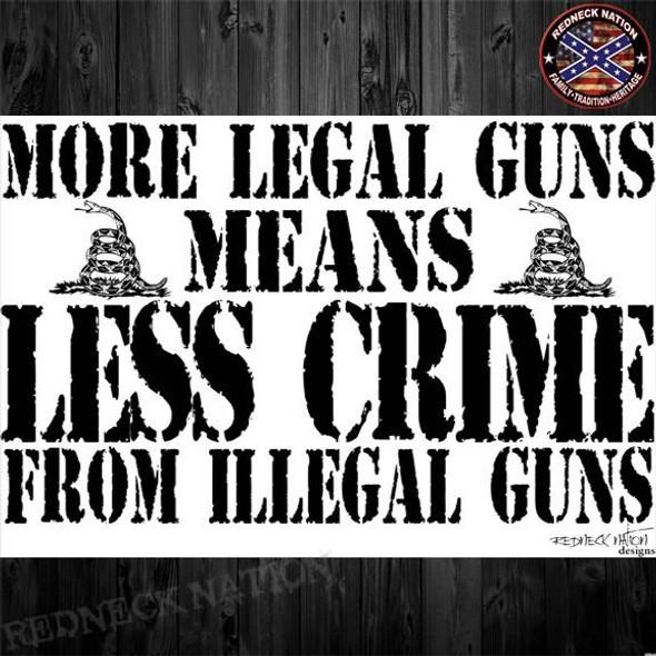 More Legal Guns Means Less Crime
