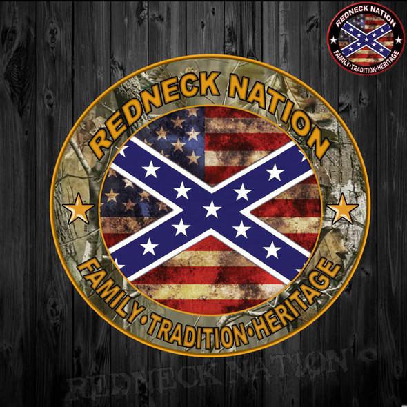 Redneck Nation Camo RNST-8