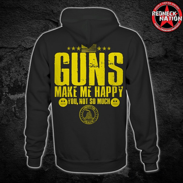 Redneck Nation© Guns Make Me Happy RNH-39