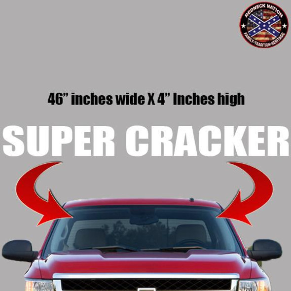 Super Cracker Windshield RNFW-8