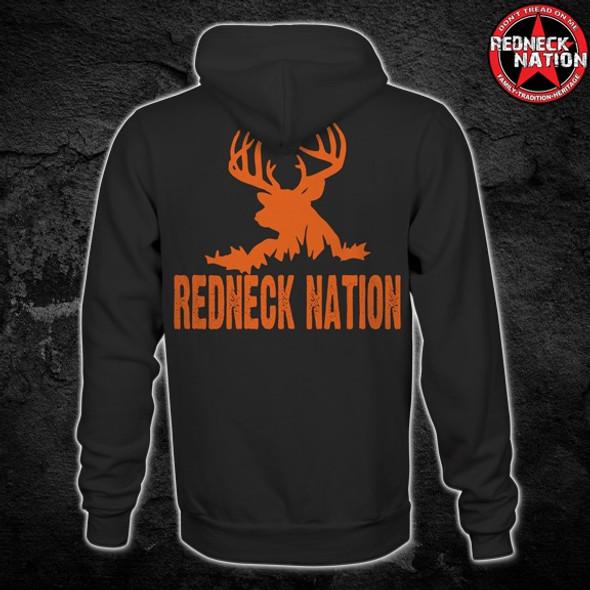 Redneck Nation Deer Silhouette Hoodie RNH-6