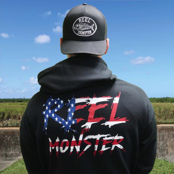 Reel Monster American Hoodie