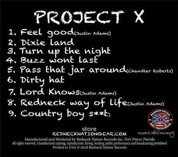 Project X Album Upchurch & Bottleneck