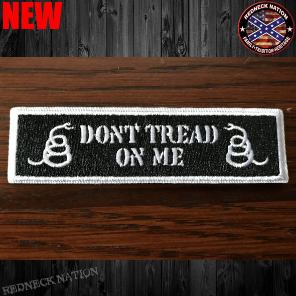 Don't Tread Velcro Back Hat Patch VHP-12