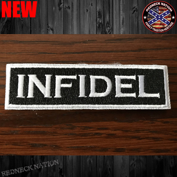 Infidel Velcro Back Hat Patch VHP-11