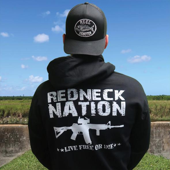 Redneck Nation Live Free Hoodie RNH-7